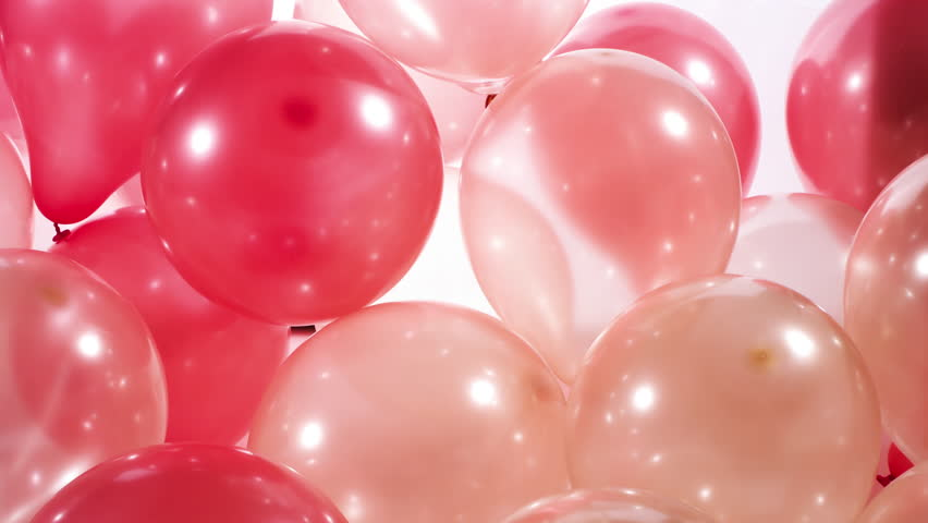 4k Party Balloons Background