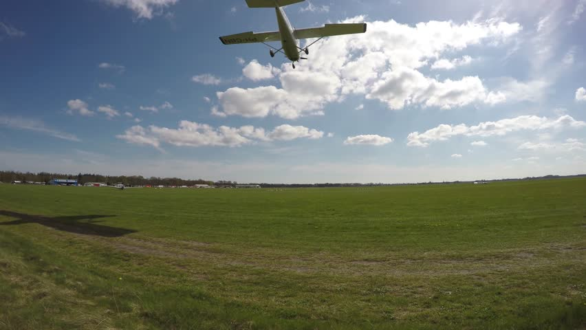 Header of airfield