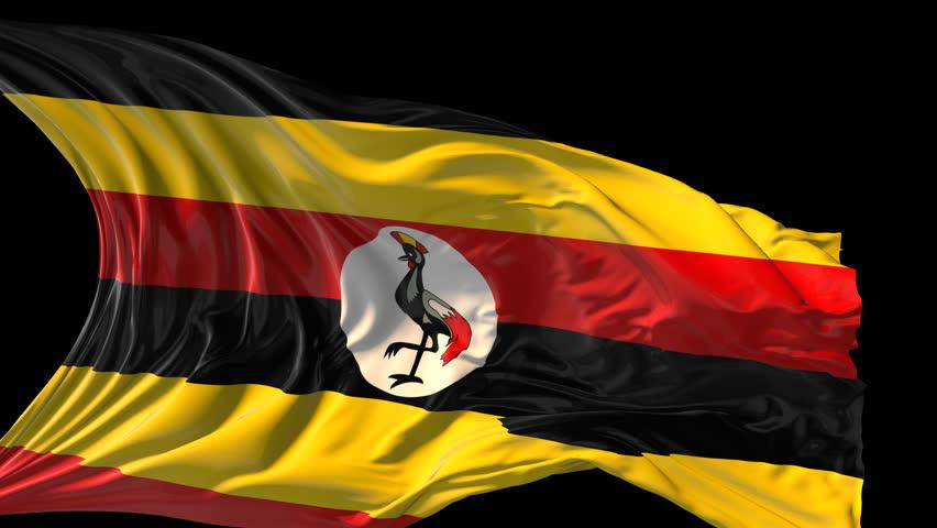 Uganda Map Stock Footage Video Shutterstock - Uganda map hd