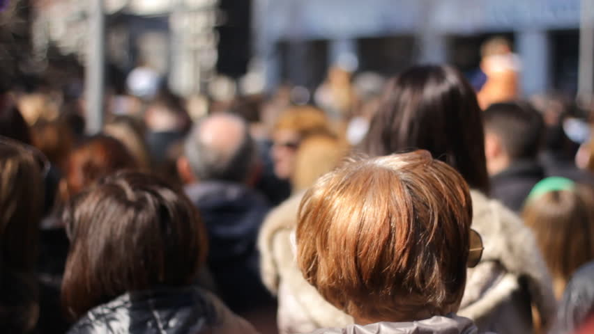 Zrenjanin,Serbia March 21 2015:Fans enjoying in Music Live Performing Concert1920x1080 full hd footage  | Shutterstock HD Video #9670013