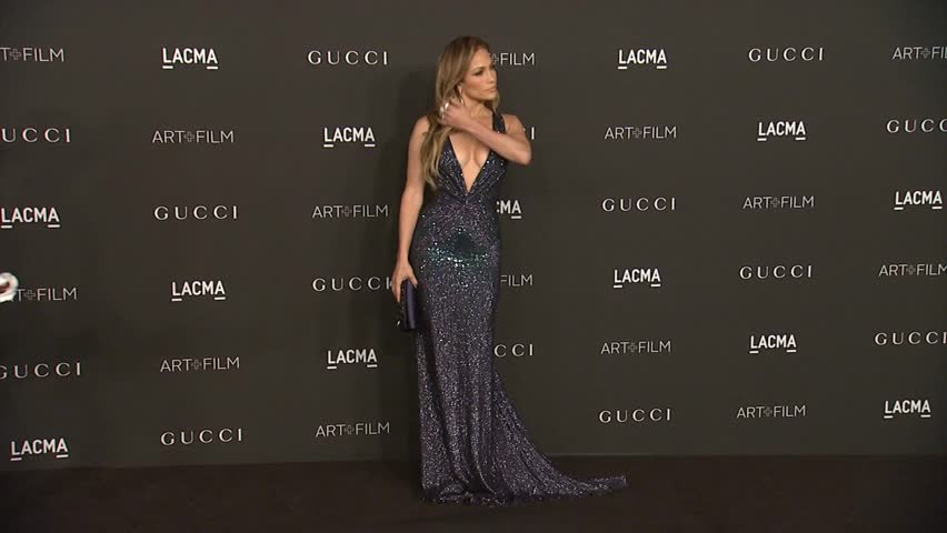 Los Angeles, CA - November 01,2014: Jennifer Lopez at LACMA's Art + Film Gala 2014, LACMA