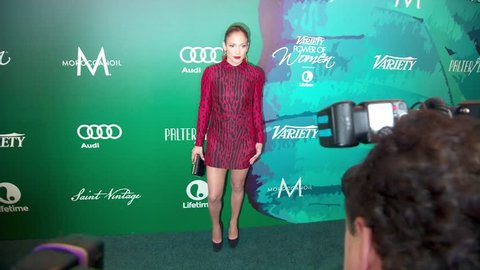 Los Angeles, CA - October 10,2014: Jennifer Lopez at Variety's Power of Women Luncheon 2014, Four Seasons Hotel