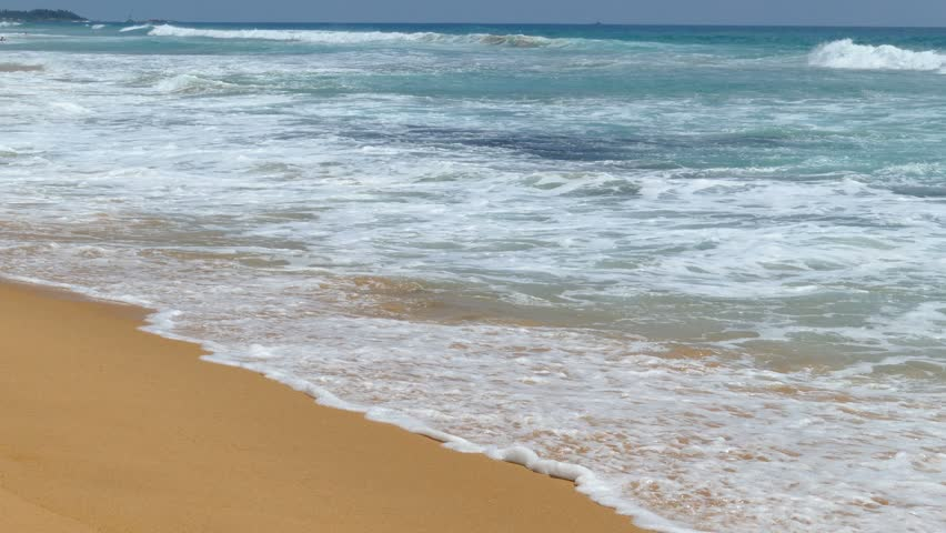 Ocean Waves On the Beach Stock Footage Video (100% Royalty-free) 9884990    Shutterstock