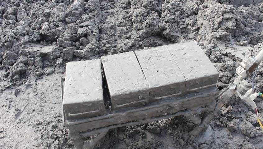 HAI DUONG, VIETNAM, April, 12; handmade brick production  on April 12, 2015 in Hai Duong, Vietnam | Shutterstock HD Video #9934277